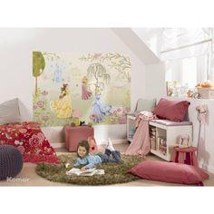 Girls room ideas - love the disney princess painting! Princess Theme Bedroom, Princess Bedrooms, Disney Bedrooms, Princess Room, Bedroom Themes, Girls Bedroom, Bedroom Colors, Bedroom Decor, Bedroom Ideas