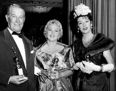 Old Hollywood. :    Maurice Chevalier, Ann Southern,    Rosalind Russell