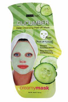 Beauty Treats Deep Cleansing Peel Off Mask #204 Cucumber