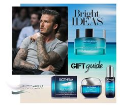 """Bright Ideas of Gifts"" by vittorio-1 ❤ liked on Polyvore featuring beauty, Biotherm and David Beckham"