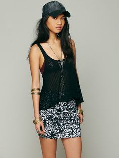 Free People Free People Neo Tribal High Waist Scrunch Skirt, $19.95