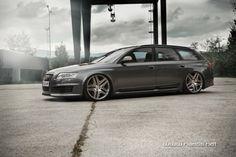 Audi RS6 Avant on AMG wheels...