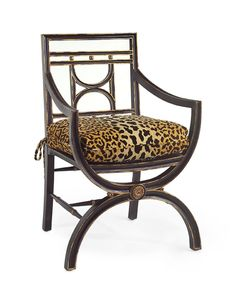 Cane-Seat Armchair - Upholstered Exposed Wood - Upholstered Furniture - Our Products