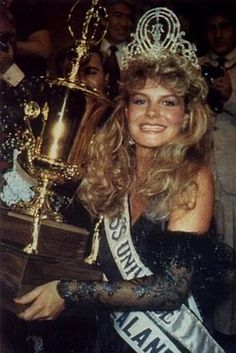 miss universe 1975 anne marie pohtamo the diamond tiara
