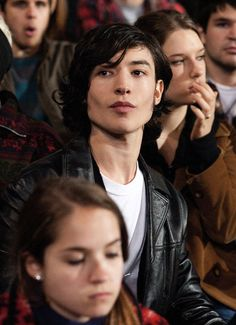 Ezra Miller. He is an INCREDIBLE actor!!! If you haven't seen the Perks of Being a Wallflower, then you're really missing out on one of the most AMAZING movies of all time!
