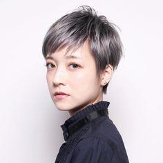 大人女子 ベリーショート イメチェン ショート|『 PEEK-A-BOO原宿 』 石井優弥【PEEK-A-BOO】 478532【HAIR】 Hairstyles Over 50, Pixie Hairstyles, Cool Hairstyles, Japanese Short Hair, Japanese Hairstyle, Grey Hair Over 50, Ash Hair, Shot Hair Styles, Hair Arrange