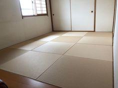 優しい色合いの清流白茶色がお部屋を暖かくみせてくれますね。 敷きつめる作業も楽しく思えるなんて、畳も幸せですね!愛着も倍増しそうです。