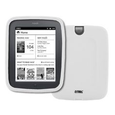 EMPIRE Barnes and Noble Nook Simple Touch White Silicone Skin Case Cover [EMPIRE Packaging] by Empire. $5.19. This Barnes and Noble Nook White silicone case is made out of durable, soft, and flexible material and is custom made to fit your device perfectly. The Barnes and Noble Nook White silicone case allows for easy access to all buttons and ports. Plug in your charger, cable, or headset without removing the Barnes and Noble Nook White silicone case. Prevents dam...