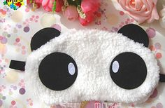 women/men Soft Panda Eyeshade Travel Sleep Spa Shading Sleep Eye Mask Blindfold | eBay