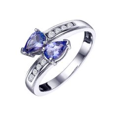 Asher - Tanzanite & Diamond Ring at Good Offers Online
