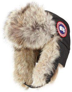 88ca364515741 Canada Goose Fur Aviator Hat