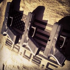 #Survival #Protection - 26, 19, 17 Glocks. #glock