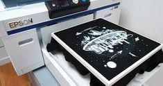 Direct To Garment Custom Printing Epson, Simple