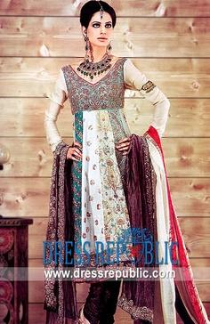 Colorant Lufthanza, Product code: DR1744, by www.dressrepublic.com - Keywords: Colorful Anarkali Dress, Traditional Anarkali Dress Collection Online Shop
