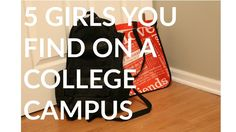 5 GIRLS AT COLLEGE