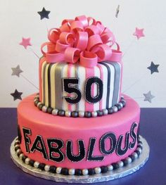 50th Birthday Cake Cupcakes 40th For Women Parties