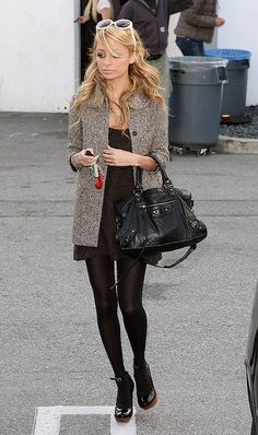 Nicole Richie, great look!
