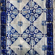 It's all about azulejos, the Portuguese perfect tiles !