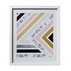 Home Republic Marble Geometric Print, prints, wall art