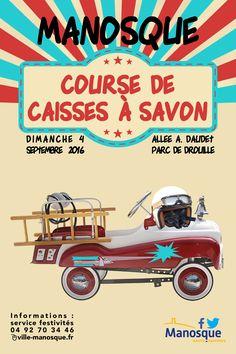 Course de caisses à savon dimanche 4 septembre au Parc de Drouille à Manosque