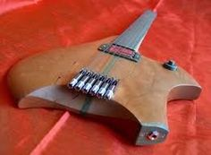 "Image result for headless guitar ""string lock"""
