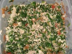 Tuna and Spinach Mix - The Kitchen Table - The Eat-Clean Diet®