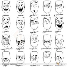 Uplifting Learn To Draw Faces Ideas. Incredible Learn To Draw Faces Ideas. Character Drawing, Character Illustration, Animation Character, Character Sketches, Animation Reference, Art Reference, Facial Expressions Drawing, Cartoon Faces Expressions, Cartoon Expression