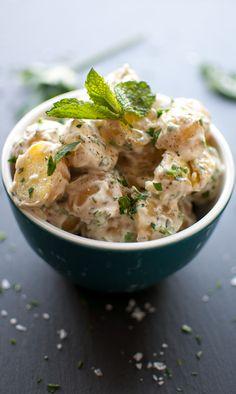 Baby Potato Salad with Fresh Herbs on MyRecipeMagic.com