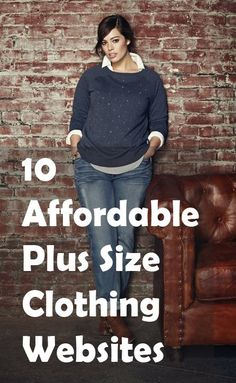 10 Affordable Plus Size Clothing Websites Tons of brands have started catering to curvy girls, expanding their clothing lines for plus size women…plus size women, with plus size wallets. While there are many boutiques out there offering plus size clothing Plus Size Tips, Look Plus Size, Plus Size Hair, Plus Size Style, Plus Size Websites, Cheap Websites, Plus Size Work, Plus Size Brands, Mode Xl