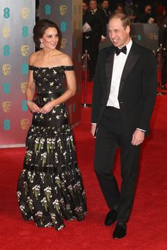 Prince William and Kate Middleton Manage to Fit in Beautifully Among Stars at the BAFTAs