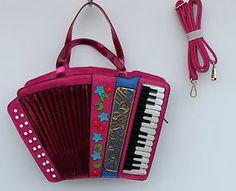 Fabric Accordion Bag idea