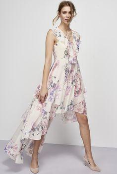 Y.A.S Tall Pionero High Low Maxi Dress