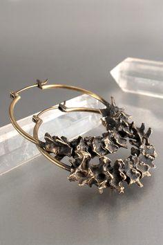 Silver Earrings, Dangle Earrings, Earrings Handmade, Handmade Jewelry, Bone Jewelry, Bones, Pendants, Sensitive Ears, Goth