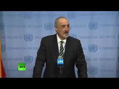 Syrian Ambassador names foreign agents captured in Aleppo - YouTube