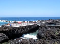 Lavapools gibt es viele auf Teneriffa. Nicht alle sind so groß und schön wie die bei Garachica. Foto: Doris Lava, Spain, Water, Outdoor, Pictures, Teneriffe, Nice Asses, Gripe Water, Outdoors