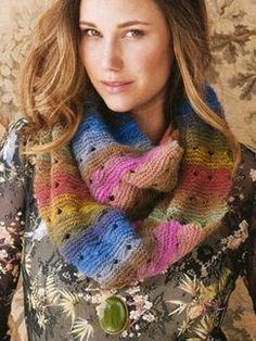 Free Moebius Cowl knitting pattern -Noro Magazine Premiere Issue - Fall 2012