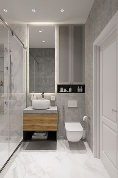 Family apartment on Behance Washroom Design, Bathroom Design Luxury, Bathroom Layout, Modern Bathroom Design, Bathroom Decals, Bad Inspiration, Bathroom Inspiration, Small Bathroom Interior, Family Apartment