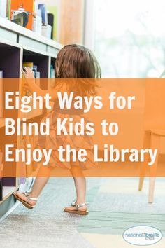 "Perfect tips from National Braille Press to help your blind child enjoy a trip to the library. (Image: young girl exploring a library shelf; Ways for Blind Kids to Enjoy the Library"") Special Needs Students, Special Kids, Princeton Library, Auditory Processing Disorder, Visual Impairment, Special Educational Needs, Great Expectations, Early Literacy, Student Teaching"