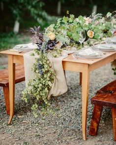Photography: Cat Mayer Studio - www.catmayerstudio.com  Read More: http://www.stylemepretty.com/2015/01/15/rustic-farm-to-table-wedding-inspiration/