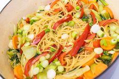 One pot pasta1 One Pot Pasta, Protein, Spaghetti, Asia, Ethnic Recipes, Food, Essen, Meals, Yemek