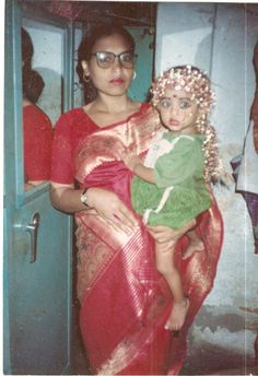 My mother & my sister.