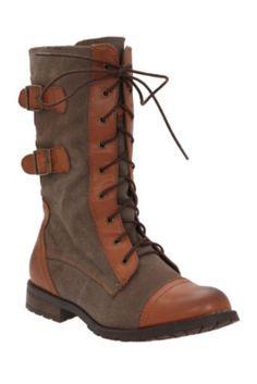 Groove Cognac Force Boots