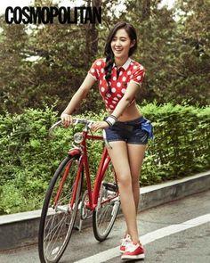 Girls ' Generation Yuri Cosmopolitan 2013