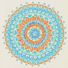 MagaMerlina: Mehndi Inspired Mandala Tutorial