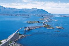 The Atlantic Ocean Road or the Atlantic Road (Norwegian: Atlanterhavsveien) is a 8.3-kilometer (5.2 mi) long section of County Road 64 which runs through an archipelago in Eide and Averøy in Møre og Romsdal, Norway.