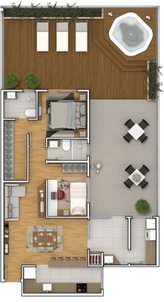 To see more Visit 👇 Country House Plans, Tiny House Plans, Modern House Plans, House Floor Plans, House Layout Plans, Floor Plan Layout, House Layouts, House Floor Design, Small House Design