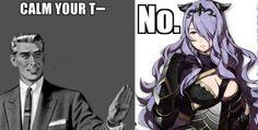 Camilla's having none of your crap.