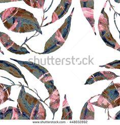 Illustration One Flower Elegant Background Stockfotos und -bilder | Shutterstock