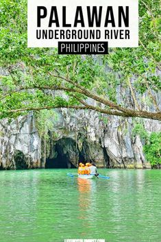 Palawan Underground River is a UNESCO World Heritage Site next to Sabang Beach in the Philippines | #Philippines | #UNESCO | #Asia | #TravelTips