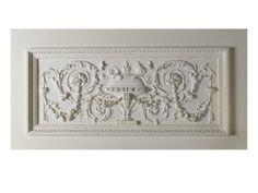 Chambre à coucher du roi de Rome : Panneau sculpté (vase à encens) Wydruk giclee w AllPosters.pl